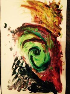 Créations participants, atelier art thérapie à toulouse. Mathilde Delavenne, art-thérapeute.