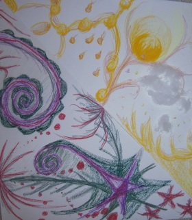 Crétion en atelier arttherapie31.com