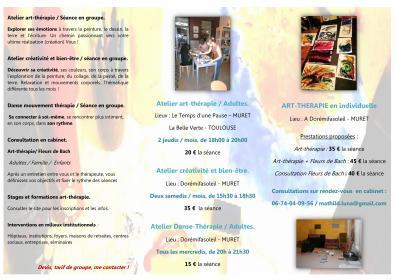 plaquette verso ateliers ad - arttherapie31